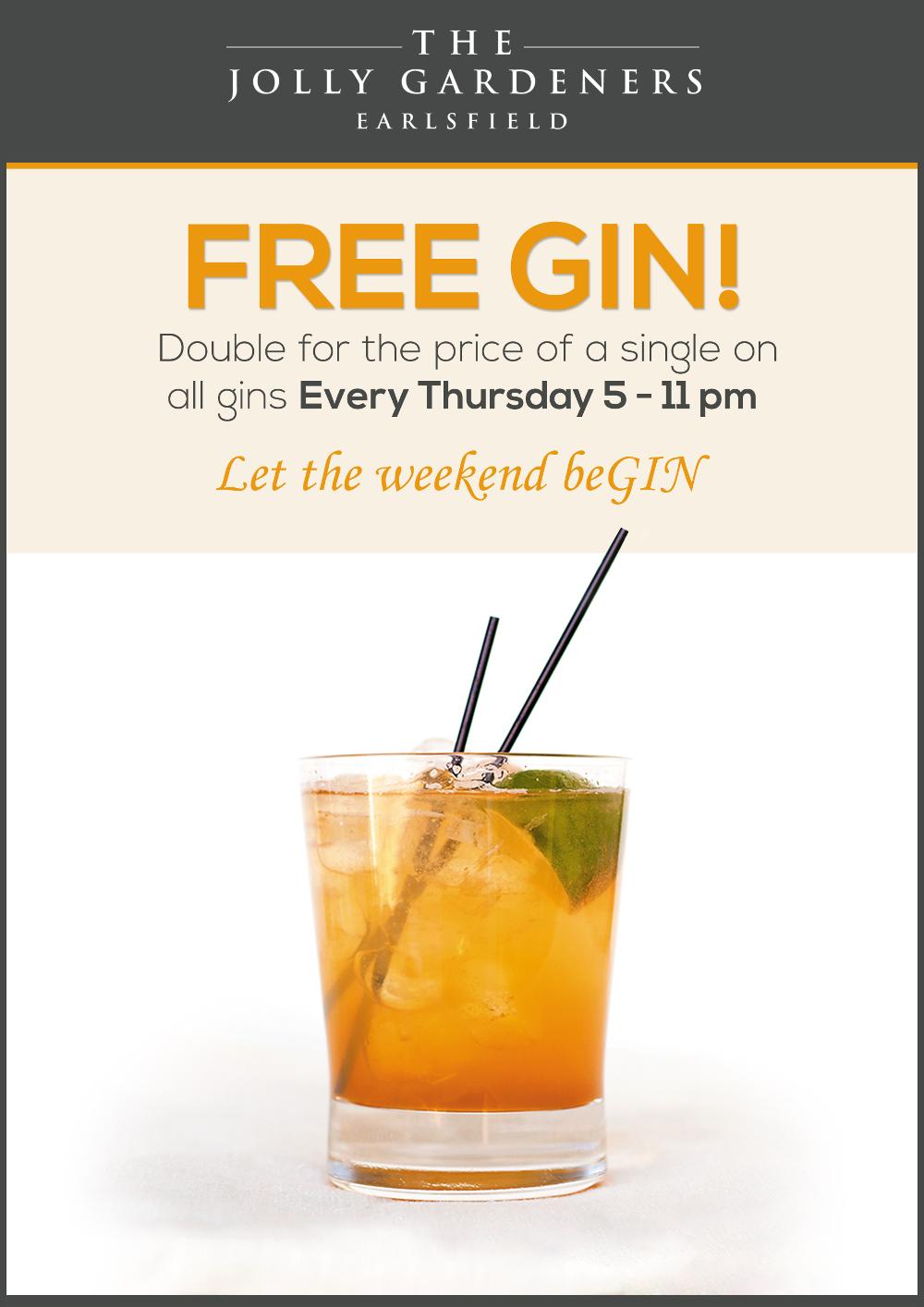 New Gin Promo web
